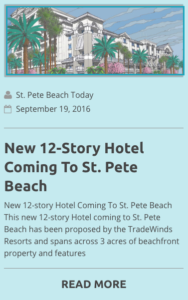 New 12 story hotel coming to st. pete beach