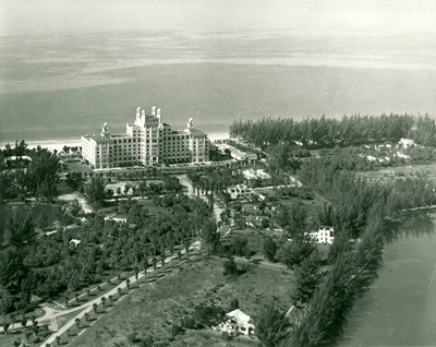 The Don CeSar Hotel in 1935