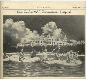 Don CeSar Newspaper Clip from 1945