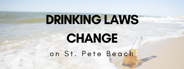 Drinking Laws on St. Pete Beach